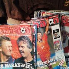 Coleccionismo deportivo: REVISTA DON BALON 1998. 22 NÚMEROS.. Lote 157140188