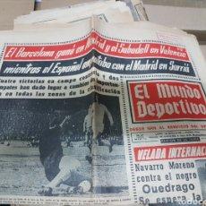 Coleccionismo deportivo: DIARIO EL MUNDO DEPORTIVO. Lote 157269078