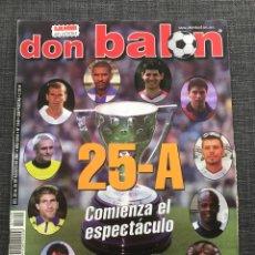 Coleccionismo deportivo: DON BALÓN 1349 - ESPECIAL INICIO LIGA 2001-2002. Lote 157798454