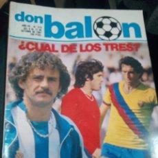 Colecionismo desportivo: REVISTA DON BALON Nº 313. Lote 157908646