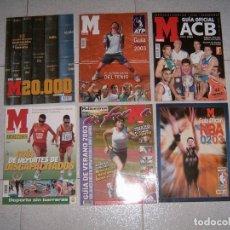 Coleccionismo deportivo: LOTE DE REVISTAS DEPORTIVAS. Lote 158120254