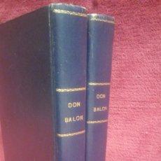 Coleccionismo deportivo: DON BALON TOMOS I Y II CON LOS 19 PRIMEROS NUMEROS AÑO 75/76. Lote 158460957