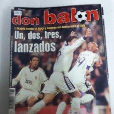 Coleccionismo deportivo: 13902 DON BALON - FEBRERO DE 2000 - Nº 1272 - CON POSTER DE KIKO. Lote 158517074