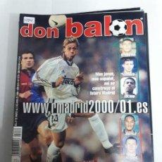 Coleccionismo deportivo: 13906 DON BALON - MARZO-ABRIL DE 2000 - Nº 1276 - CON POSTER DE HASSELBAINK. Lote 158517374