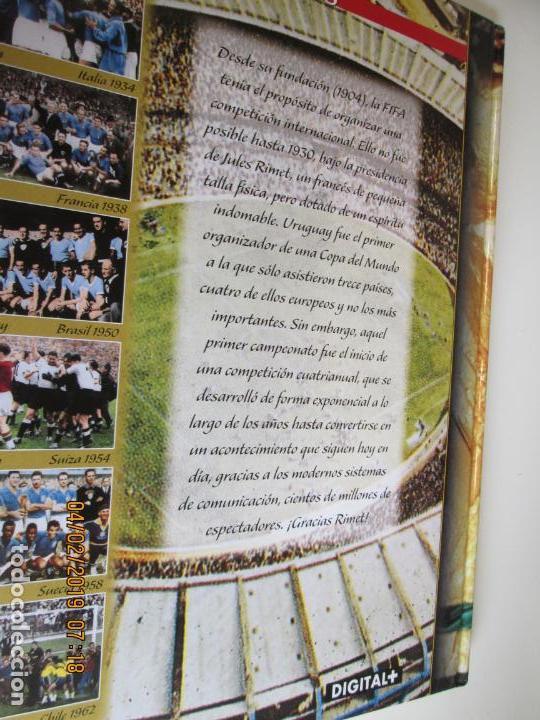 Coleccionismo deportivo: HISTORIA DE LOS MUNDIALES DE FUTBOL, AS Nº - 1-2-3 , AÑOS 1930 AL 2002 , CANAL+ DIGITAL+ - Foto 2 - 158653290