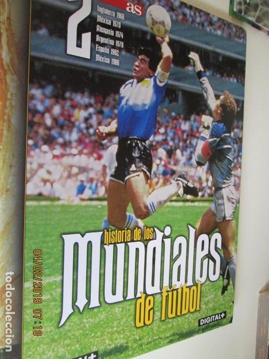 Coleccionismo deportivo: HISTORIA DE LOS MUNDIALES DE FUTBOL, AS Nº - 1-2-3 , AÑOS 1930 AL 2002 , CANAL+ DIGITAL+ - Foto 3 - 158653290