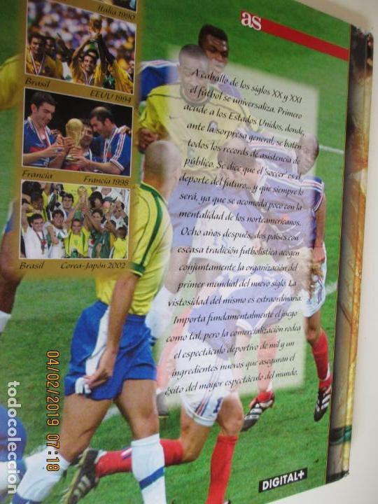 Coleccionismo deportivo: HISTORIA DE LOS MUNDIALES DE FUTBOL, AS Nº - 1-2-3 , AÑOS 1930 AL 2002 , CANAL+ DIGITAL+ - Foto 6 - 158653290