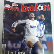 Coleccionismo deportivo: 14058 DON BALON - FEBRERO-MARZO DE 2001 - Nº 1324 - CON POSTER DEL MANCHESTER UNITED. Lote 158661266