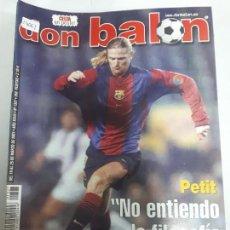 Colecionismo desportivo: 14061 DON BALON - MARZO DE 2001 - Nº 1327 - CON POSTER DEL CELTA. Lote 158661554