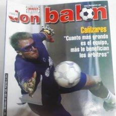 Colecionismo desportivo: 14064 DON BALON - ABRIL DE 2001 - Nº 1330 - CON POSTER DEL ZARAGOZA . Lote 158662006