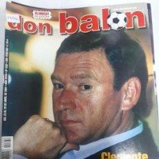 Colecionismo desportivo: 14066 DON BALON - ABRIL DE 2001 - Nº 1332 - CON POSTER DE KLUIVERT. Lote 158662166