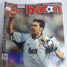 Colecionismo desportivo: 14071 DON BALON - MAYO-JUNIO DE 2001 - Nº 1337 - CON POSTER DEL VALENCIA . Lote 158662554