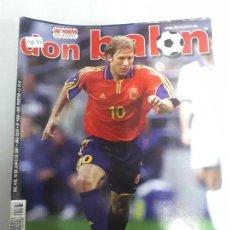 Colecionismo desportivo: 14072 DON BALON - JUNIO DE 2001 - Nº 1338 - CON POSTER DE JAVI MORENO . Lote 158662774