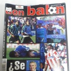 Colecionismo desportivo: 14074 DON BALON - JUNIO DE 2001 - Nº 1340 - CON POSTER DE DIEGO ETO'O. Lote 158662854