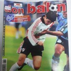 Colecionismo desportivo: 14075 DON BALON - JUNIO DE 2001 - Nº 1341 - CON POSTER DE SERGIO. Lote 158662922