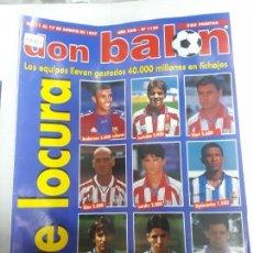 Collezionismo sportivo: 14102 DON BALON - AGOSTO DE 1997 - Nº 1139 - CON POSTER DEL EQUIPO DB DEL AÑO. Lote 158667074