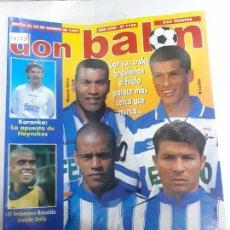 Collezionismo sportivo: 14103 DON BALON - AGOSTO DE 1997 - Nº 1140 - CON POSTER DE ROMARIO . Lote 158667254