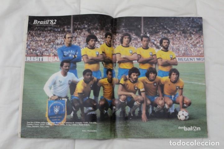 Coleccionismo deportivo: REVISTA DON BALÓN. Nº 1 EXTRA MENSUAL MUNDIAL ESPAÑA '82. ZICO EN PORTADA. - Foto 2 - 158702806