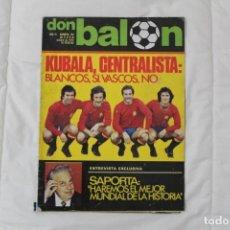 Coleccionismo deportivo: REVISTA DON BALÓN. Nº 156. Lote 158704966