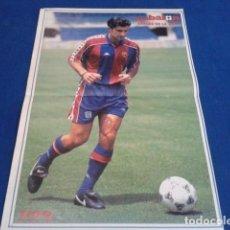 Coleccionismo deportivo: POSTER DON BALON F.C.BARCELONA (CRACK DE LA LIGA 93 - 94 ) LUIS FIGO . Lote 158718710