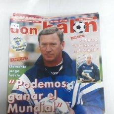 Collezionismo sportivo: 14116 DON BALON - DICIEMBRE DE 1997 - Nº 1155 - CON POSTER DEL CD TENERIFE. Lote 158765346