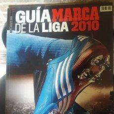 Coleccionismo deportivo: GUIA MARCA 2010. Lote 158877672