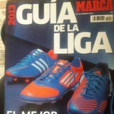 Coleccionismo deportivo: GUIA MARCA 2013. Lote 158877902