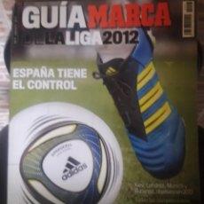 Coleccionismo deportivo: GUIA MARCA 2012. Lote 158877988