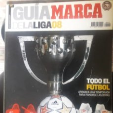 Coleccionismo deportivo: GUIA MARCA 2008. Lote 158878025