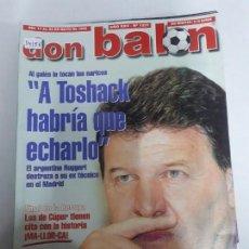 Coleccionismo deportivo: 14156 DON BALON - MAYO DE 1999 - Nº 1231 - CON POSTER DEL PARMA . Lote 159003758