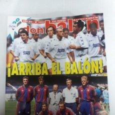 Coleccionismo deportivo: 14180 DON BALON - JULIO-AGOSTO DE 1995 - Nº 1033 - CON POSTER DE FIGO. Lote 159016882