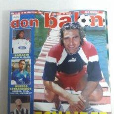 Coleccionismo deportivo: 14233 DON BALON - AGOSTO DE 1996 - Nº 1087 . Lote 159030370