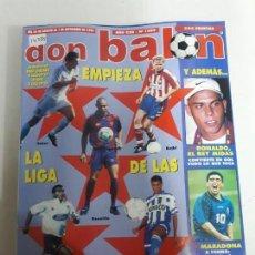 Coleccionismo deportivo: 14235 DON BALON - AGOSTO-SEPTIEMBRE DE 1996 - Nº 1089. Lote 159030798