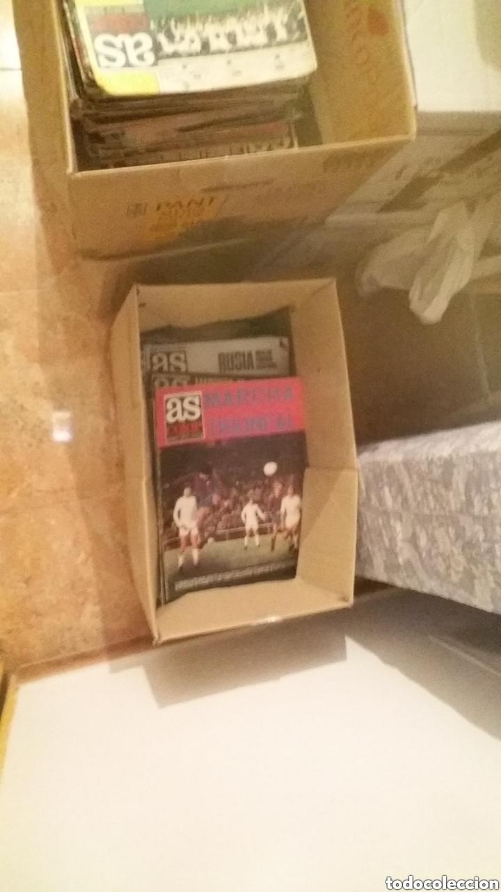 Coleccionismo deportivo: Colección AS COLOR completa. 1971 a 1981. Todos los posters. - Foto 4 - 159069153