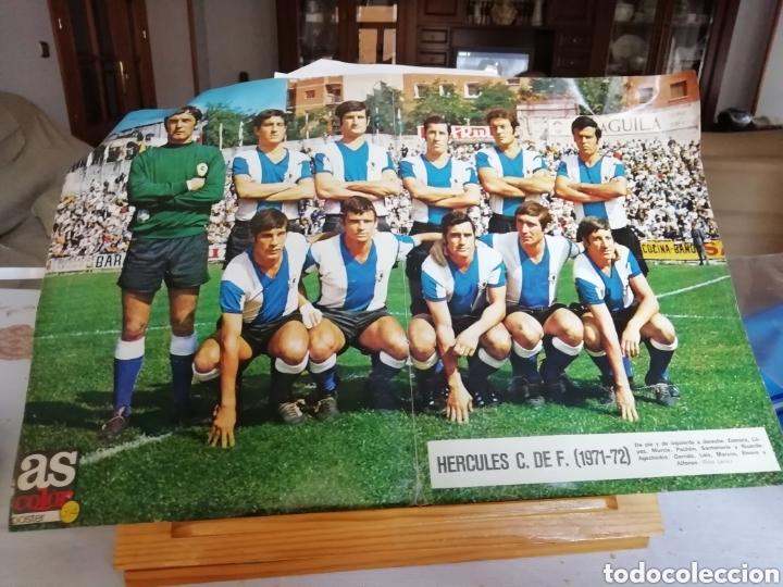 Coleccionismo deportivo: Colección AS COLOR completa. 1971 a 1981. Todos los posters. - Foto 6 - 159069153