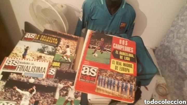 Coleccionismo deportivo: Colección AS COLOR completa. 1971 a 1981. Todos los posters. - Foto 7 - 159069153