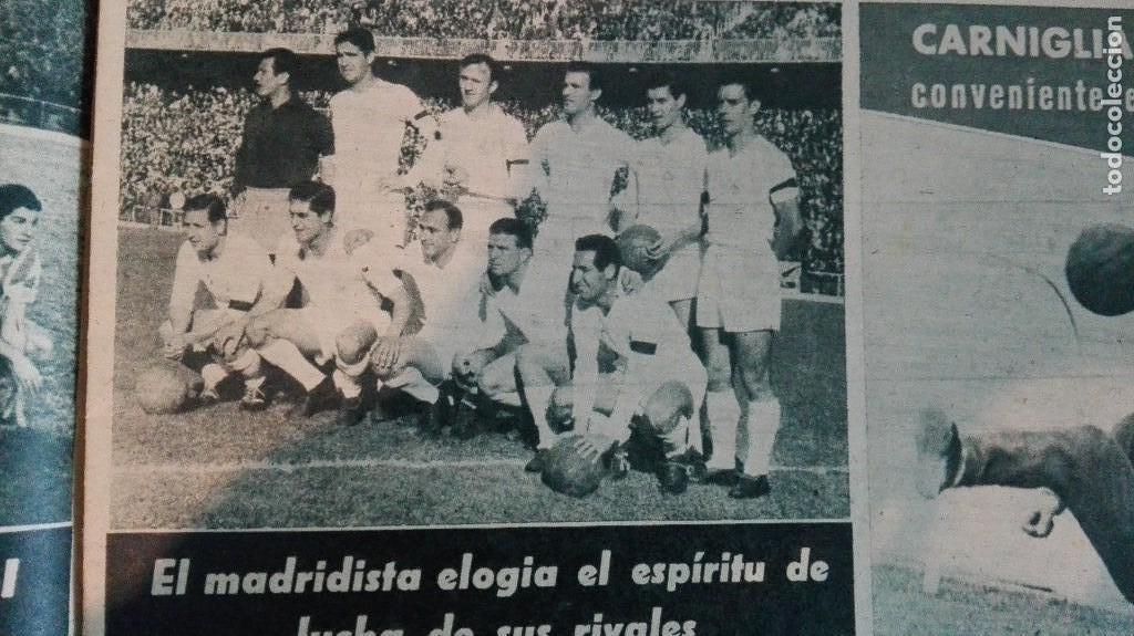 Coleccionismo deportivo: DIARIO MARCA, BARCELONA CAMPEON LIGA 1958-59, REAL MADRID, ATLETICO, DERBI!!!!!! - Foto 8 - 28654011