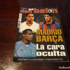 Coleccionismo deportivo: REVISTA DON BALON Nº 1359 - POSTER DE VERON DEL MANCHESTER UNITED . Lote 159158594