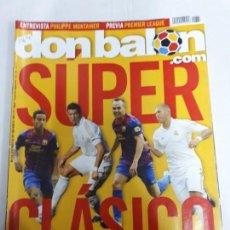 Coleccionismo deportivo: 13696 DON BALON - AGOSTO DE 2011 - Nº 1867 - CON POSTER DE CONETRAO. Lote 159173646