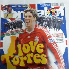 Coleccionismo deportivo: 13822 DON BALON - OCTUBRE DE 2008 - Nº 1722 - CON POSTER DE INIESTA. Lote 159201766