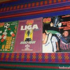 Coleccionismo deportivo: AS COLOR EXTRA LIGA 1988 1989, 1990 1991 Y ESPECIAL MUNDIAL ITALIA 90. PÓSTER REAL MADRID Y ESPAÑA.. Lote 159217510