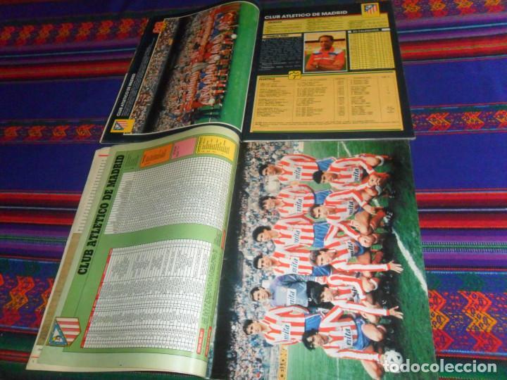 Coleccionismo deportivo: AS COLOR EXTRA LIGA 1988 1989, 1990 1991 Y ESPECIAL MUNDIAL ITALIA 90. PÓSTER REAL MADRID Y ESPAÑA. - Foto 3 - 159217510