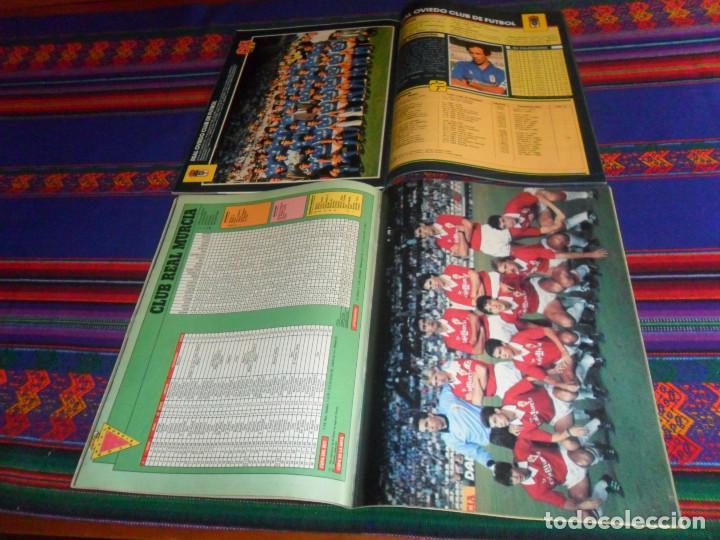 Coleccionismo deportivo: AS COLOR EXTRA LIGA 1988 1989, 1990 1991 Y ESPECIAL MUNDIAL ITALIA 90. PÓSTER REAL MADRID Y ESPAÑA. - Foto 5 - 159217510