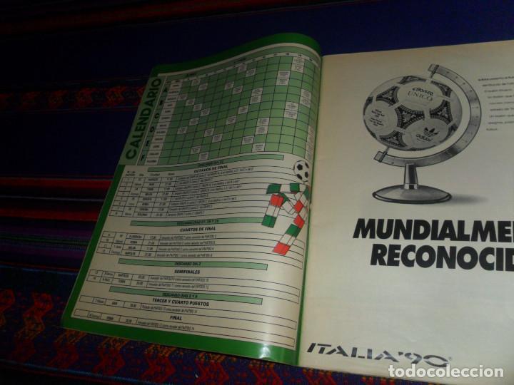 Coleccionismo deportivo: AS COLOR EXTRA LIGA 1988 1989, 1990 1991 Y ESPECIAL MUNDIAL ITALIA 90. PÓSTER REAL MADRID Y ESPAÑA. - Foto 7 - 159217510