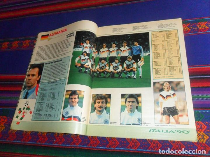 Coleccionismo deportivo: AS COLOR EXTRA LIGA 1988 1989, 1990 1991 Y ESPECIAL MUNDIAL ITALIA 90. PÓSTER REAL MADRID Y ESPAÑA. - Foto 8 - 159217510