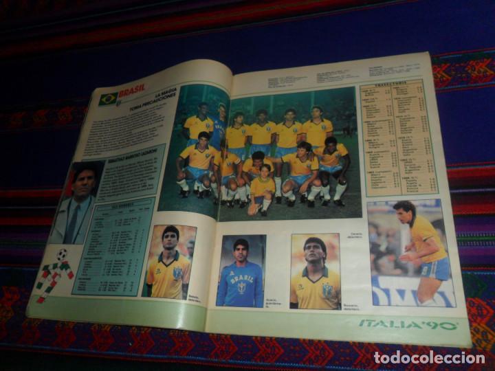 Coleccionismo deportivo: AS COLOR EXTRA LIGA 1988 1989, 1990 1991 Y ESPECIAL MUNDIAL ITALIA 90. PÓSTER REAL MADRID Y ESPAÑA. - Foto 10 - 159217510