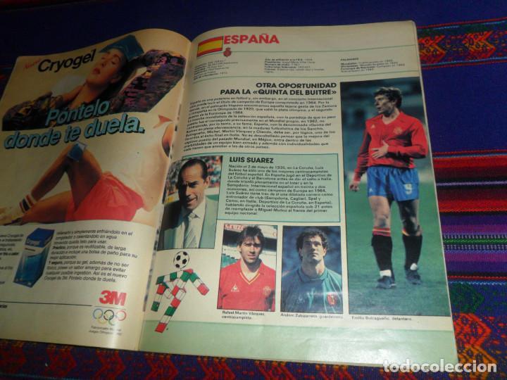Coleccionismo deportivo: AS COLOR EXTRA LIGA 1988 1989, 1990 1991 Y ESPECIAL MUNDIAL ITALIA 90. PÓSTER REAL MADRID Y ESPAÑA. - Foto 11 - 159217510