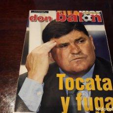 Coleccionismo deportivo: REVISTA DON BALON Nº 1395 - CAMACHO . TOCATA Y FUGA . POSTER DE RONALDO CON CAMISETA DEL BRASIL. Lote 159365214