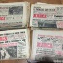 Coleccionismo deportivo: MARCA . LOTE DE 50 PERIODICOS DE LOS AÑOS 50 Y 60 EN BUEN ESTADO. Lote 159376326