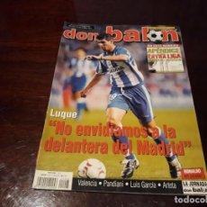 Coleccionismo deportivo: REVISTA DON BALON Nº 1405 - POSTER DE RONALDO REAL MADRID - APENDICE EXTRA LIGA 2002-03. Lote 159386934